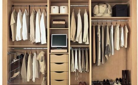 Наполнение шкафа купе – как грамотно организовать внутреннее пространство