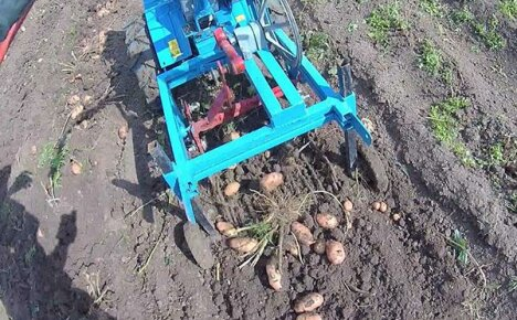 Насадки мотоблока для сбора урожая