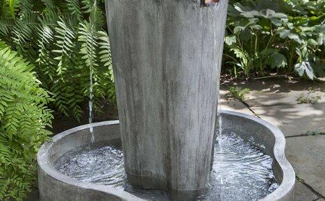 Фонтан из бетона своими руками – оригинальное украшение садового ландшафта