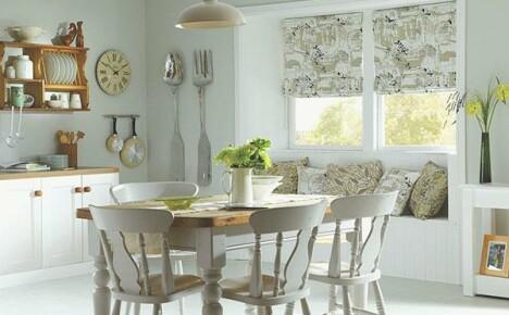 Создаем домашний уют выбирая кухонные шторы