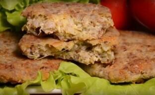 Гречневые котлеты с сыром – очень вкусные и сочные