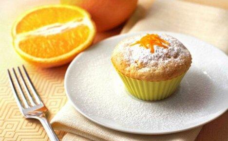 Готовим апельсиновые кексы разными способами
