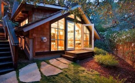 Необычные дизайнерские решения строительства дачных домиков