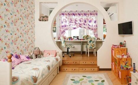 Современный дизайн детской комнаты: проектирование, оформление интерьера, мебель, стены, обстановка