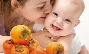 Полезные свойства хурмы: здоровый ребенок, жена и муж