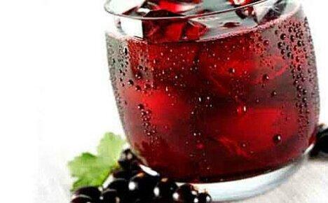 Компот из черной смородины – зимняя порция витаминов