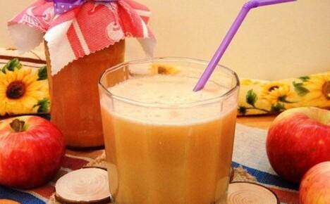 Готовим удивительный по вкусу яблочно тыквенный сок на зиму