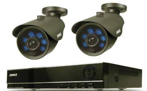 Бюджетная система видеонаблюдения с уведомлением из Китая