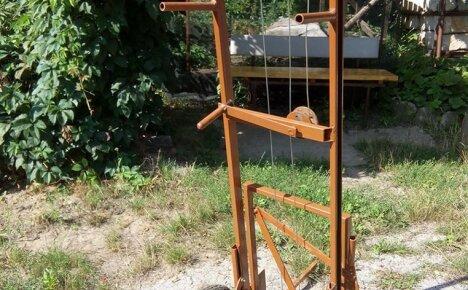 Пошаговая схема самостоятельного изготовления тележки для ульев Апилифт