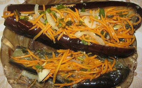 Готовим осеннее блюдо – квашеные баклажаны, фаршированные овощами