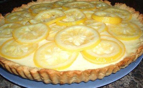 Пирог с лимоном – кисло-сладкое лакомство для всей семьи