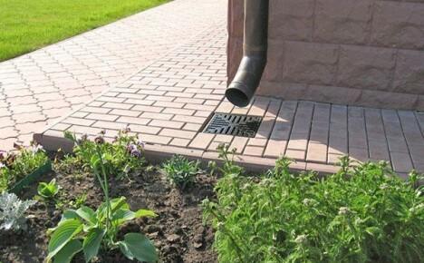 Качественная ливневая канализация в частном доме своими руками