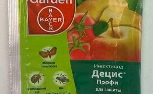 Инсектицид Децис Профи – гроза жуков и насекомых в саду и на огороде