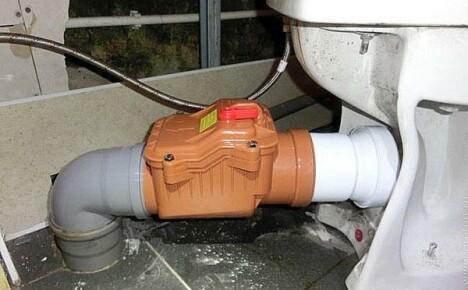 Как выбрать и установить обратный клапан для канализации