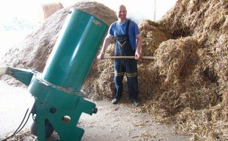 Особенности конструкций измельчителей сена и соломы для частных подворий