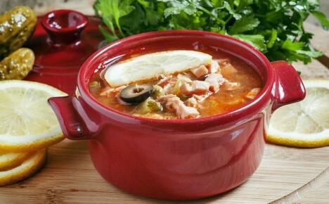 Рецепт супа солянки с использованием разных ингредиентов