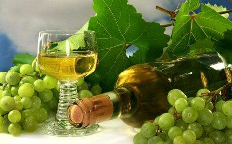 Шампанское из виноградных листьев в домашних условиях