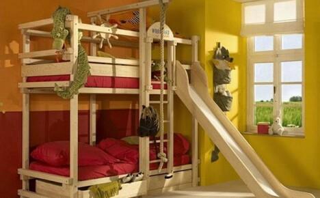Прочная и красивая двухъярусная кровать своими руками