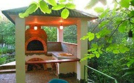 Как сделать мангал для дачи с крышей своими руками