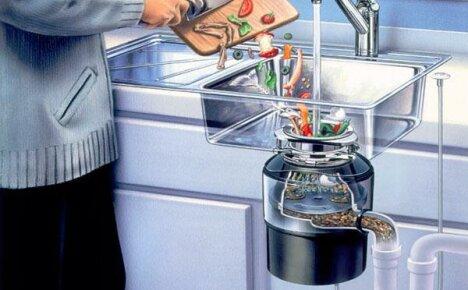 Ваша раковина никогда не будет забиваться, если установить измельчитель пищевых отходов