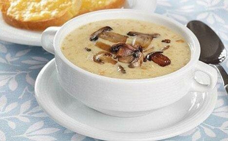 Тонкости приготовления сырного супа с грибами