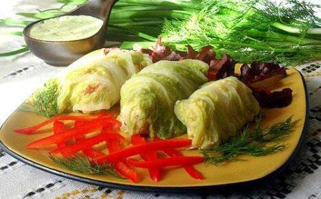 Готовим быстро и вкусно голубцы из пекинской капусты