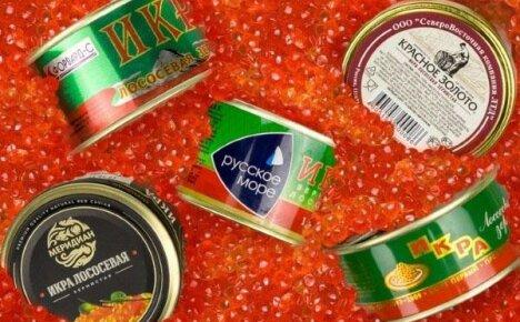 Икра красная: как выбрать продукт хорошего качества