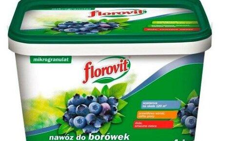 Флоровит для голубики, свойства и особенности применения