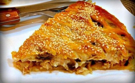 Эксклюзивные рецепты пирога с грибами