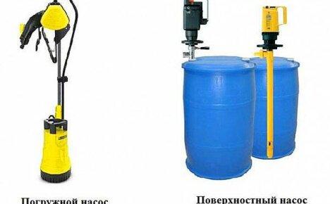 Выбираем насос для полива дачных грядок из бочки