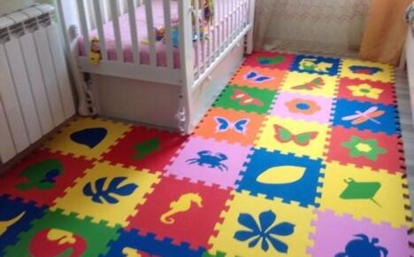 Выбираем мягкий пол для детских комнат
