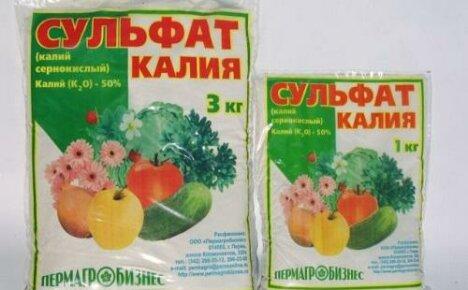 Сульфат калия для удобрения картофеля, огурцов и томатов