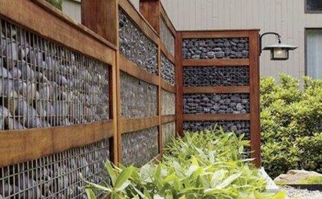 Как построить красивый и надежный забор из габионов своими руками