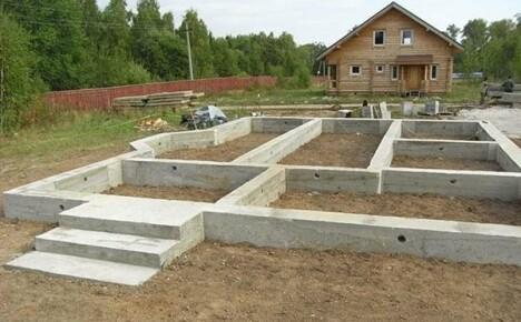 Ленточный фундамент для дома: конструкция и технология возведения