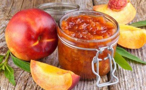 Вкусное нежное варенье из персиков