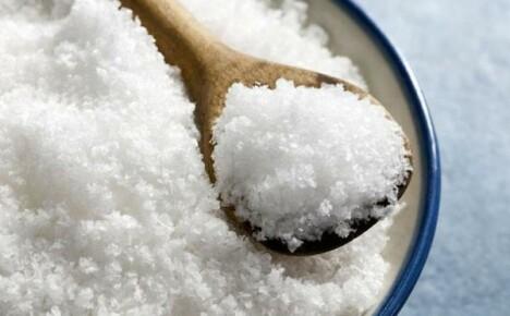 Коль используешь ты соль — будешь осенью король!