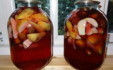 Витамины в банке: компот из яблок и груш на зиму