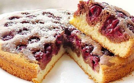 Рецепты с фото пирога с вишней для домашней кулинарии
