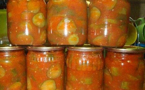 Рецепты консервирования на зиму: огурцы в томатном соке