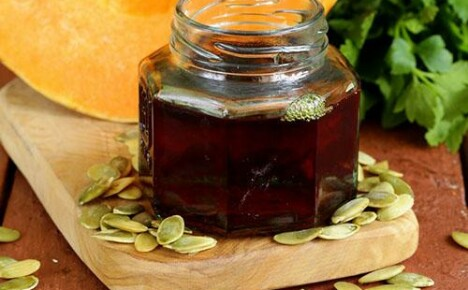 Особенности применения тыквенного масла