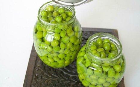 Как консервировать и мариновать зеленый горох?