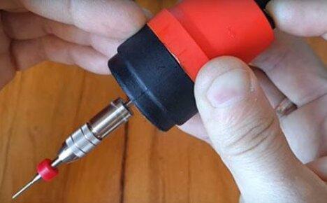 Делаем своими руками мини-дрель для мелких работ