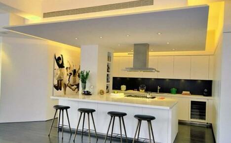 Каким материалом отделать потолок на кухне