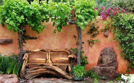 Обустройство рутария в саду