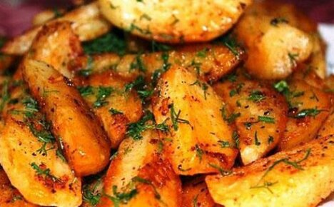 Покоритель русских сердец – картофель по-деревенски