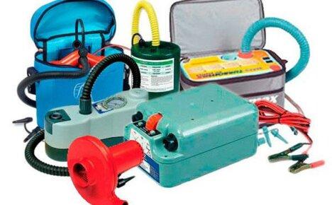 Выбираем правильно — насос для лодки ПВХ электрический, ручной или самодельный
