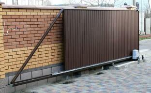 Сдвижные ворота: типы и особенности их конструкций