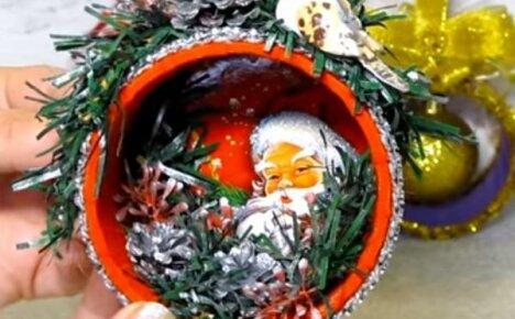 Елочные игрушки из бобин от скотча – делаем красивые вещи из хлама