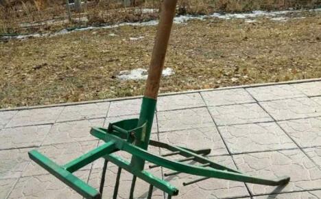 Особенности чудо-лопаты Крот и самостоятельное изготовление инструмента