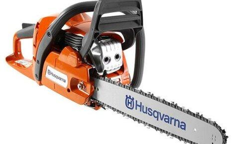 Бензопила Хускварна – надёжная техника для любителей и профи